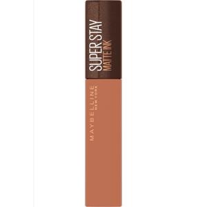 Maybelline NY SuperStay Matte Ink Coffee Edition 255 Chai Genius matná dlouhotrvající tekutá rtěnka 5ml