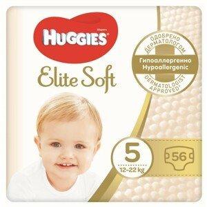 HUGGIES® Elite Soft 5 12-22kg 56ks