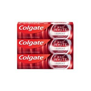 Colgate Zubní pasta Max White Expert Original 3x75ml