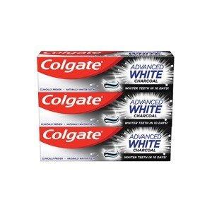 Colgate Zubní pasta Advanced White Charcoal 75ml 3 kusy