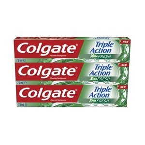 Colgate Zubní pasta Triple Action Xtra Fresh 75ml 3 kusy