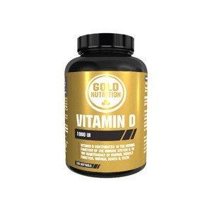 GoldNutrition Vitamin D3 1000 IU 120 kapslí