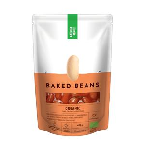 AUGA Pečené fazole v rajčatové omáčce BIO 400ml