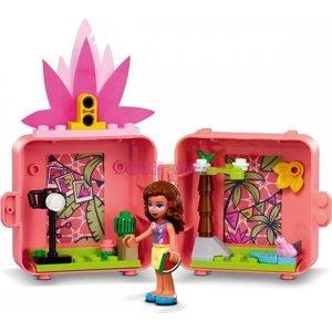 Lego Olivia a její plameňákový boxík