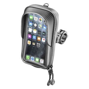 """Interphone Univerzální držák na mobilní telefony Master s úchytem na řídítka, pro telefony max. 5,8"""", černý"""