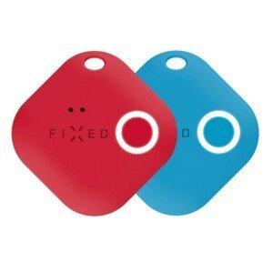FIXED Smart tracker Smile s motion senzorem DUO PACK - červený + modrý
