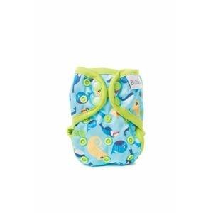 Bobánek Látková plenka novorozenecké svrchní kalhotky, patentky - Chameleoni 1ks