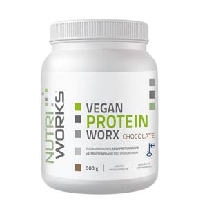 NutriWorks Vegan Protein Worx čokoláda 500g