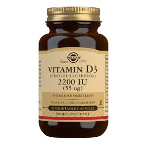 Solgar Vitamín D3 2200 IU 50 kapslí