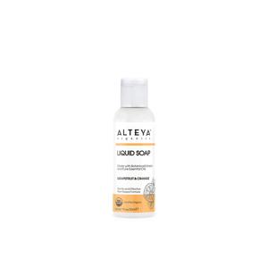 Alteya Organics Organické tekuté mýdlo Grapefruit & pomeranč Bio 30ml