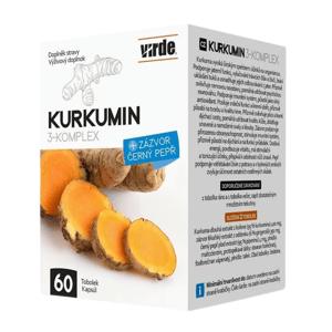 Virde Kurkumin 3-komplex 60 tobolek