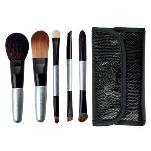 Royal&Langnickel Brush Essentials Cestovní sada štětců, stříbrná 5ks