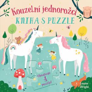 Svojtka Kniha s puzzle Kouzelní jednorožci
