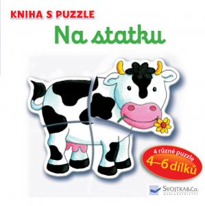 Svojtka Kniha s puzzle Na statku