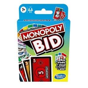 Hasbro Monopoly Bid - Karetní hra CZ