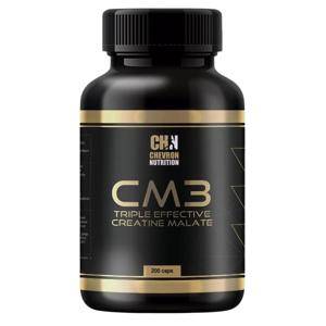 Chevron Nutrition CM3 Triple Effective Creatine Malate 600mg 200 kapslí