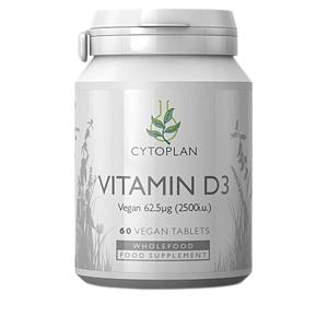 Cytoplan Wholefood Vitamín D3 60 tablet