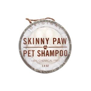 The Skinny Paw Original tuhý šampon pro domácí mazlíčky 107,7g