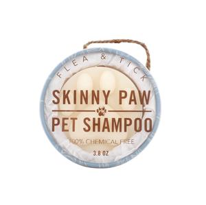 The Skinny Paw tuhý šampon pro domácí mazlíčky 107,7g