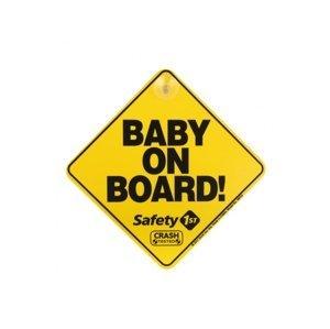 Safety 1st Štítek Baby On Board do auta Yellow