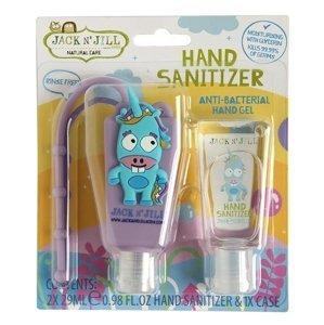 Jack n' Jill  Jack N´Jill Antibakteriální gel na ruce pro děti Jednorožec 2x29ml
