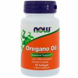 Now Foods Oreganový olej 500mg 90 želatinových kapslí