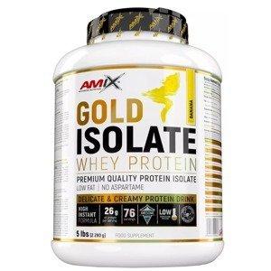 Amix Gold Whey Protein Isolate, Banán 2280g
