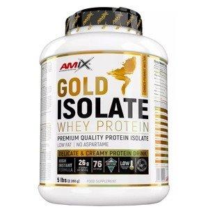 Amix Gold Whey Protein Isolate, Čokoláda-Arašídové máslo 2280g
