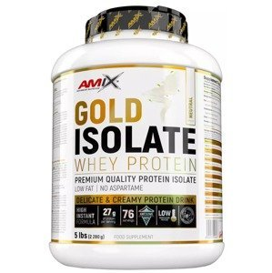 Amix Gold Whey Protein Isolate, Natural 2280g