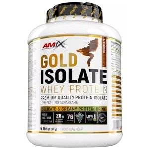 Amix Gold Whey Protein Isolate, Přírodní čokoláda 2280g