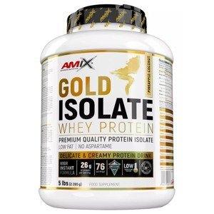 Amix Gold Whey Protein Isolate, Ananas-Kokosový džus 2280g