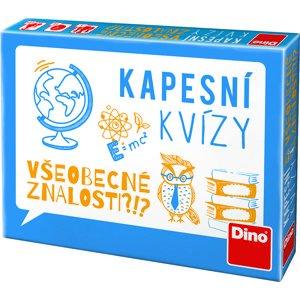 Dino Kapesní kvízy Všeobecné znalosti, cestovní hra