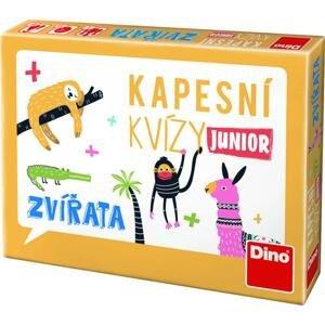 Dino Kapesní kvízy Junior Zvířata, cestovní hra