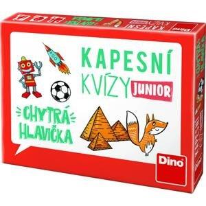 Dino Kapesní kvízy Junior Chytrá hlavička, cestovní hra