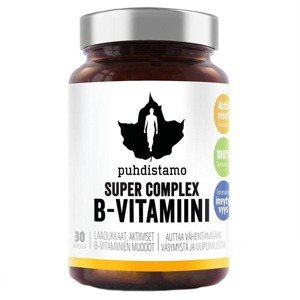 Puhdistamo Super Vitamin B-Complex 30 kapslí