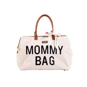 Childhome Přebalovací taška Mommy Bag Teddy Off White