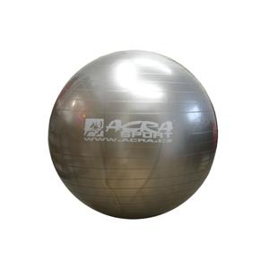 Acra Gymnastic Ball stříbrný 55cm