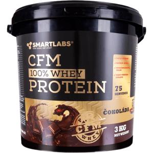 Smartlabs CFM 100% Whey Protein vanilka 3000g