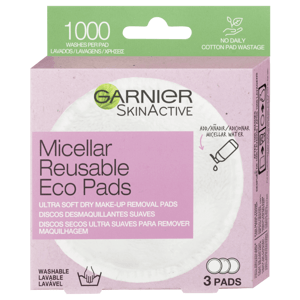 Garnier Znovupoužitelné odličovací tampony 3ks