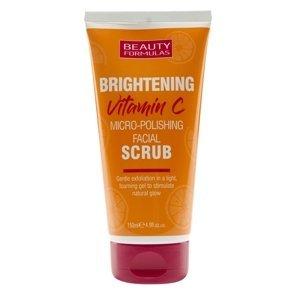 Beauty Formulas Rozjasňující pleťový scrub s vitamínem C 150ml
