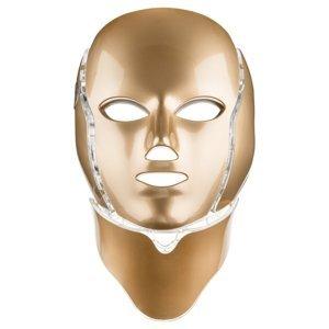 Palsar7 Ošetřující LED maska na obličej a krk zlatá 1ks