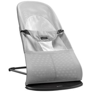 BabyBjörn Lehátko Balance Soft Mesh Silver/White šedé