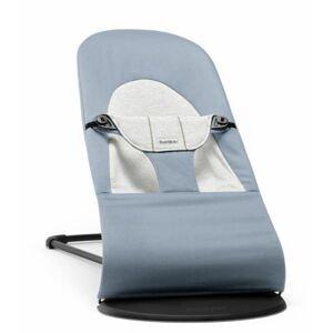 BabyBjörn Lehátko Balance Soft Blue/Grey Cotton/Jersey modré