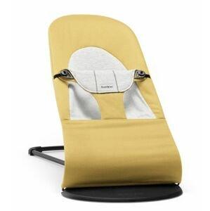 BabyBjörn Lehátko Balance Soft Yellow/Grey Cotton/Jersey žluté