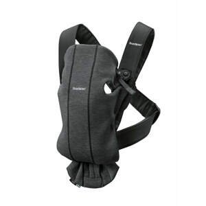 BabyBjörn Nosítko Mini Charcoal Grey 3D Jersey šedé