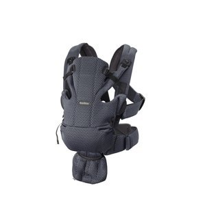BabyBjörn nosítko Move 3D Mesh Anthracite šedé