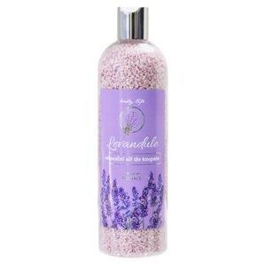Body Tip Premium Relaxační sůl do koupele levandule 500g