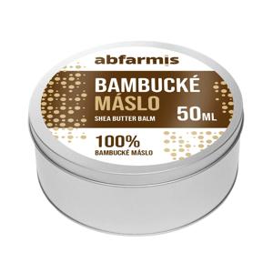 Abfarmis 100% Bambucké máslo 50ml