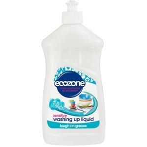 Ecozone Na ruční mytí nádobí, Sensitive 500ml