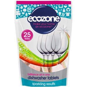 Ecozone Tablety do myčky Brilliance 25ks